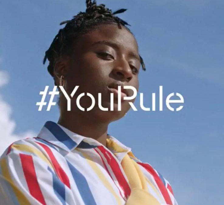 Eunice Beckmann präsentiert #YouRule Kampagne